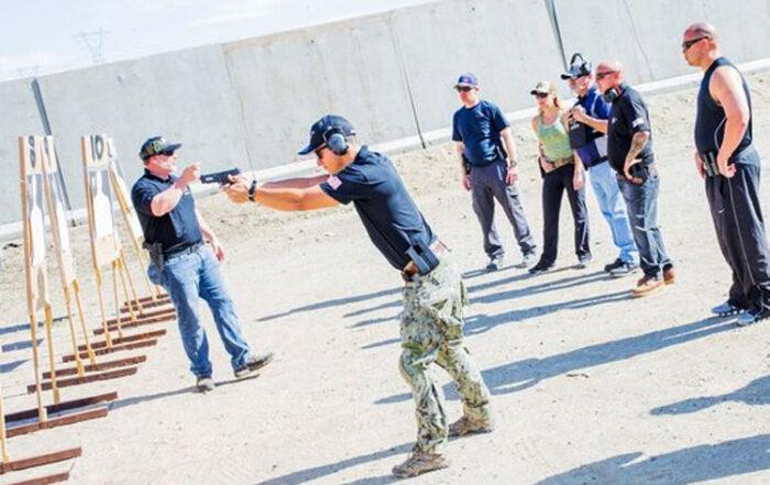 Tactical Pistol Level 2 image on gun range